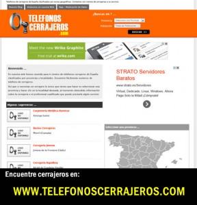 telefonocerrajeros.com